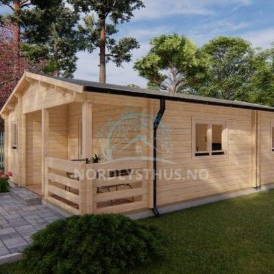 hytte byggesett Bandak