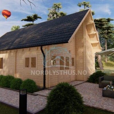hytte Rogen byggesett