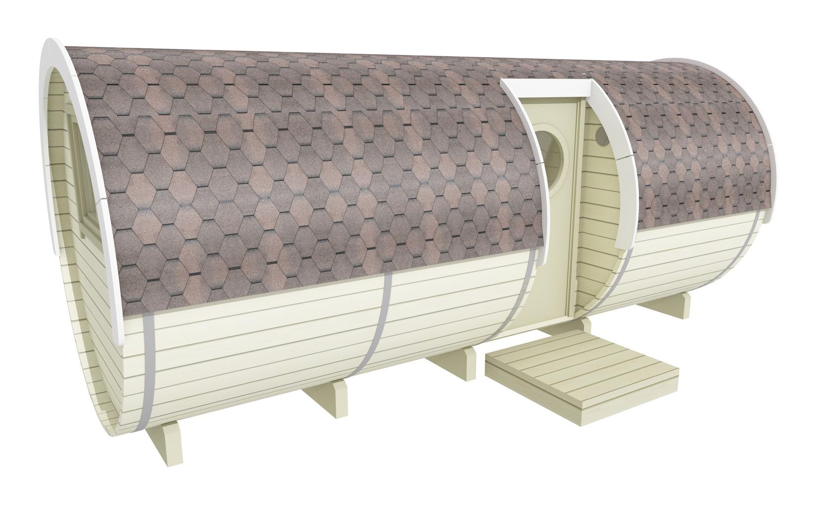Barrel with side entrance 2.2×5.4 m.2